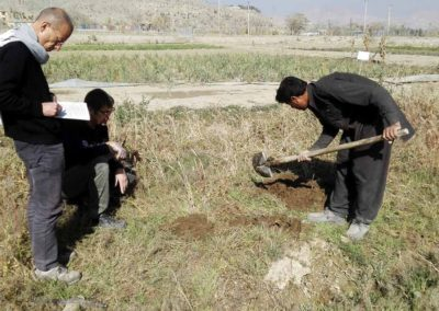 raesf-etude-profil-sol-parcelles-experimentales-kabul-afghanistan