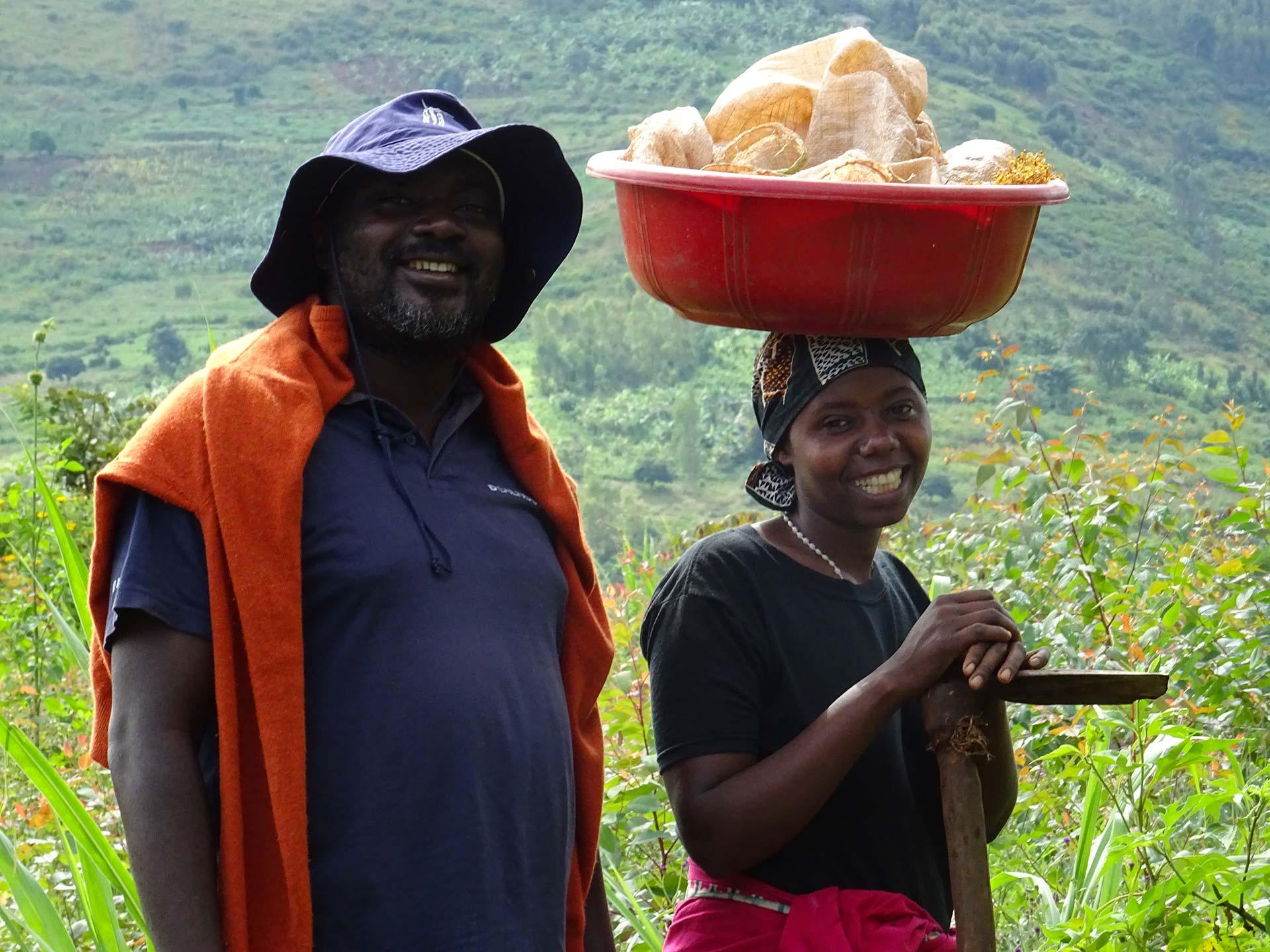 Couple paysans agroécologie